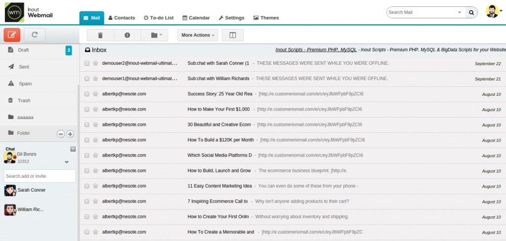 webmail-demo